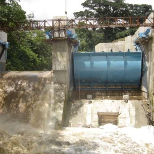 Barrage El Recreo au Guatemala