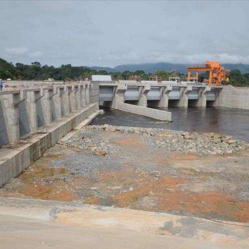 Centrale hydroélectrique de Memve'ele (211MW)
