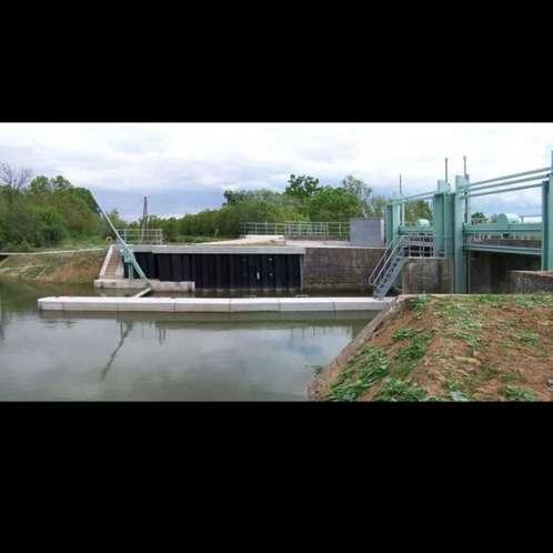 Modernisation du barrage de l'aqueduc de Maillé