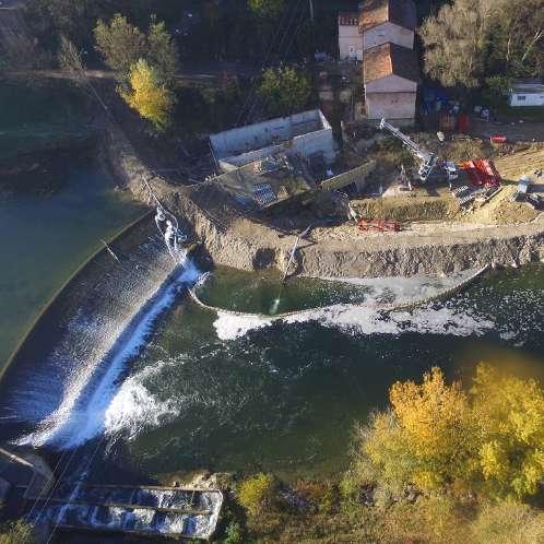 Centrale hydroélectrique de Mazères