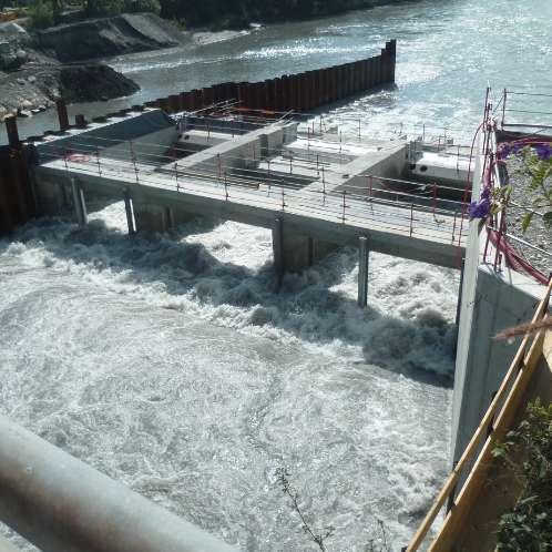 Centrale hydroéléctrique de Chavort Montmélian